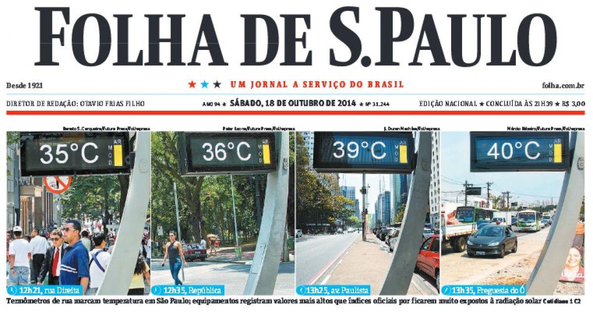 Calor bate recordes, causa mortes e vai piorar no Centro do país