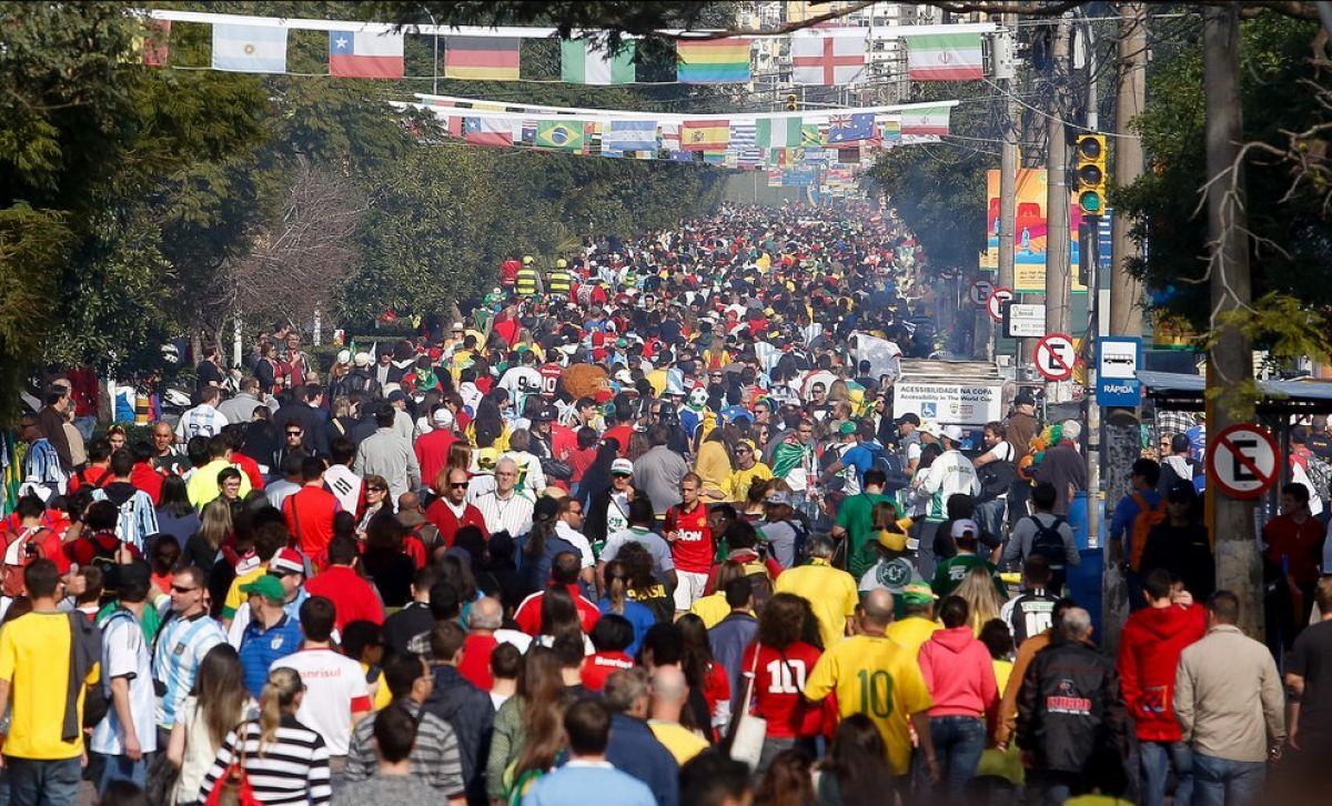 Copa do Mundo 2014 – Semana de invasão argentina terá muita chuva