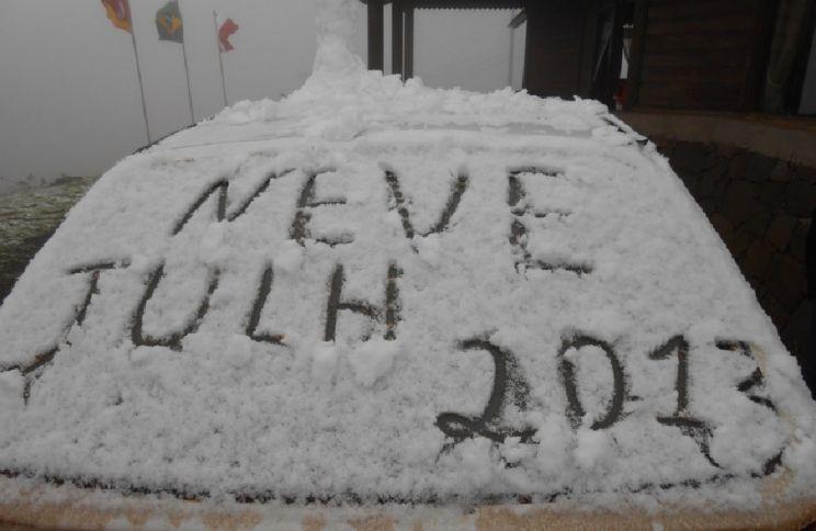 Frio aumentará ainda mais e Sul do Brasil deve voltar a ver neve