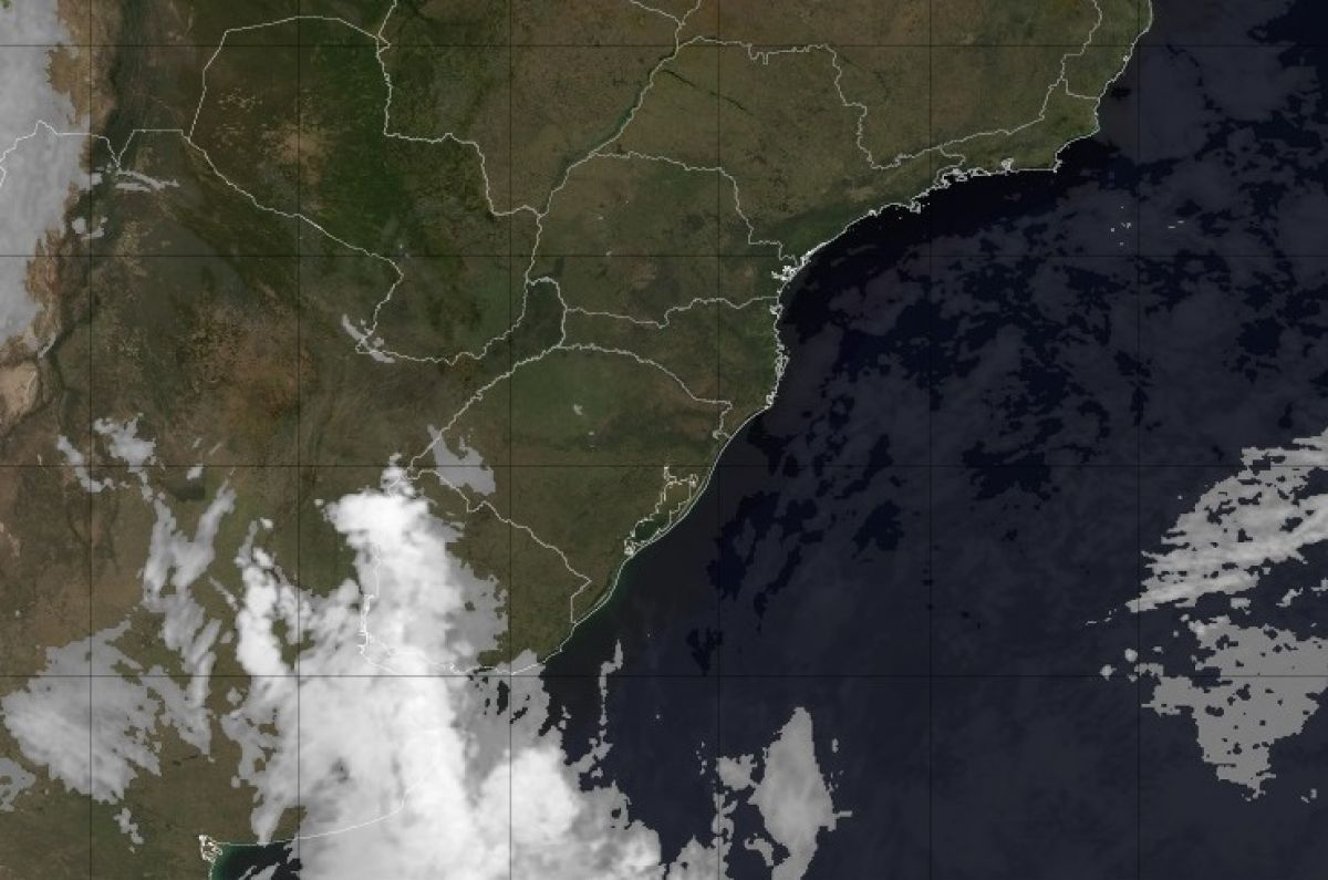 Instabilidade avança pelo Rio Grande do Sul entre hoje e amanhã