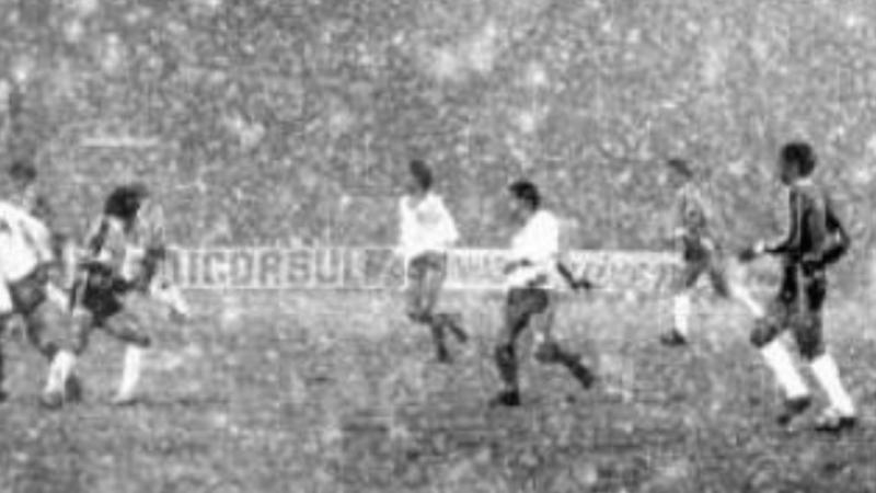 """Os 40 anos do """"Jogo da Neve"""" do Grêmio em Bento Gonçalves"""
