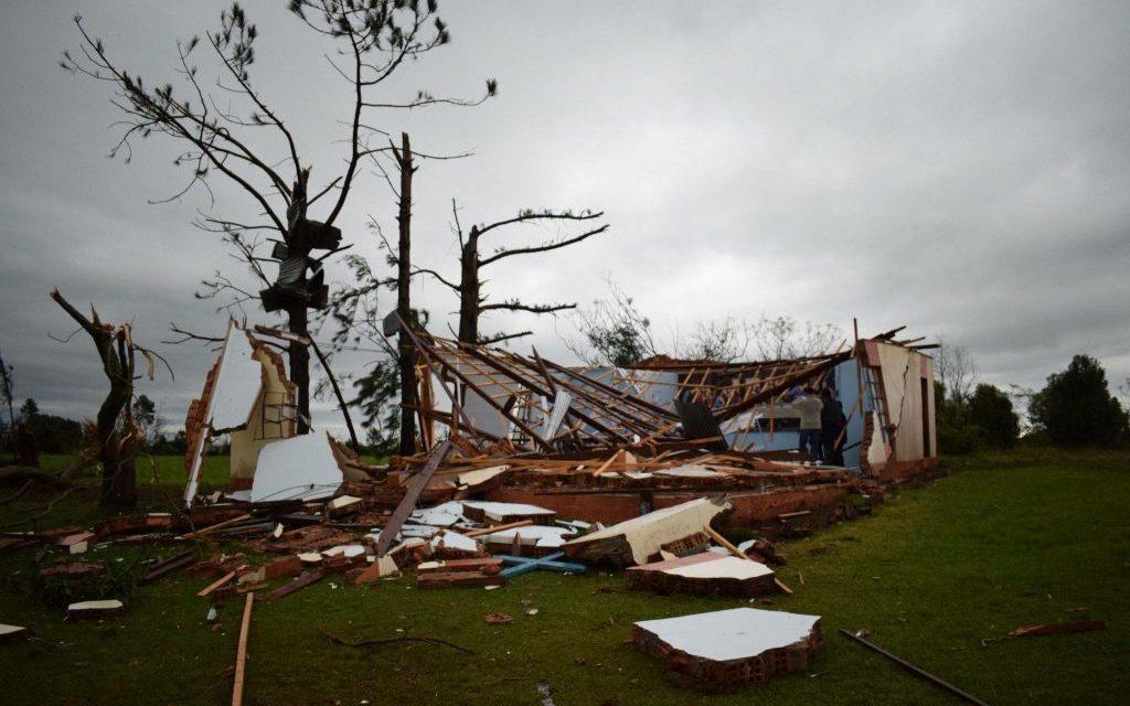 Violenta onda de tempestades atingiu a Metade Norte gaúcha