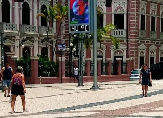 Onda de calor estabeleceu recordes de até um século no Sul do Brasil