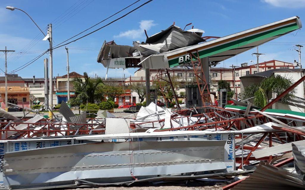 Estragos por temporais no Rio Grande do Sul