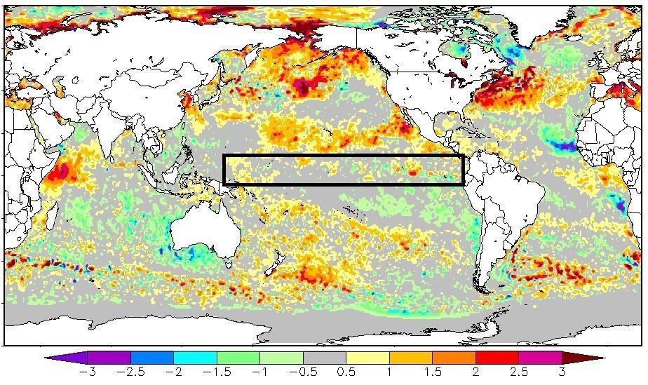 Primavera começará sem El Niño