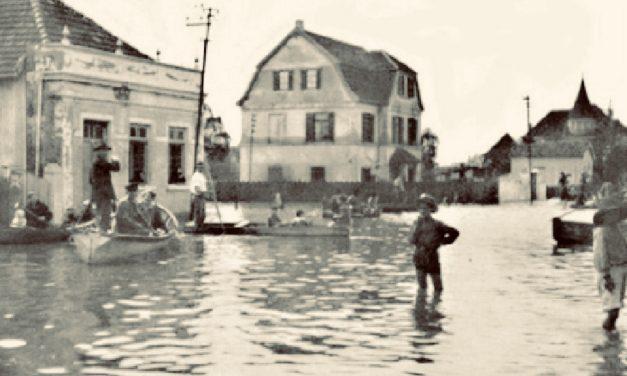 Grande enchente em Porto Alegre e nos vales há 100 anos
