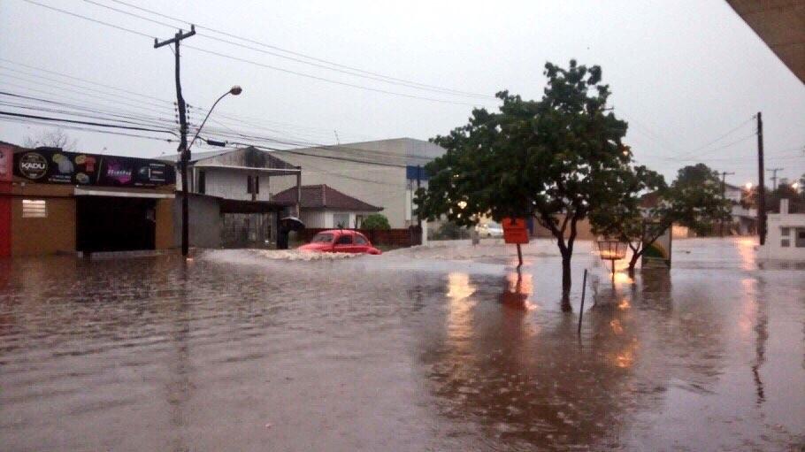 Alagamentos e danos por tempestades