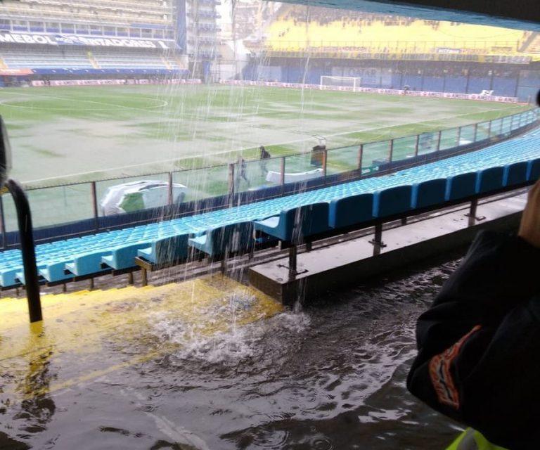 Granizo gigante e inundações na Argentina