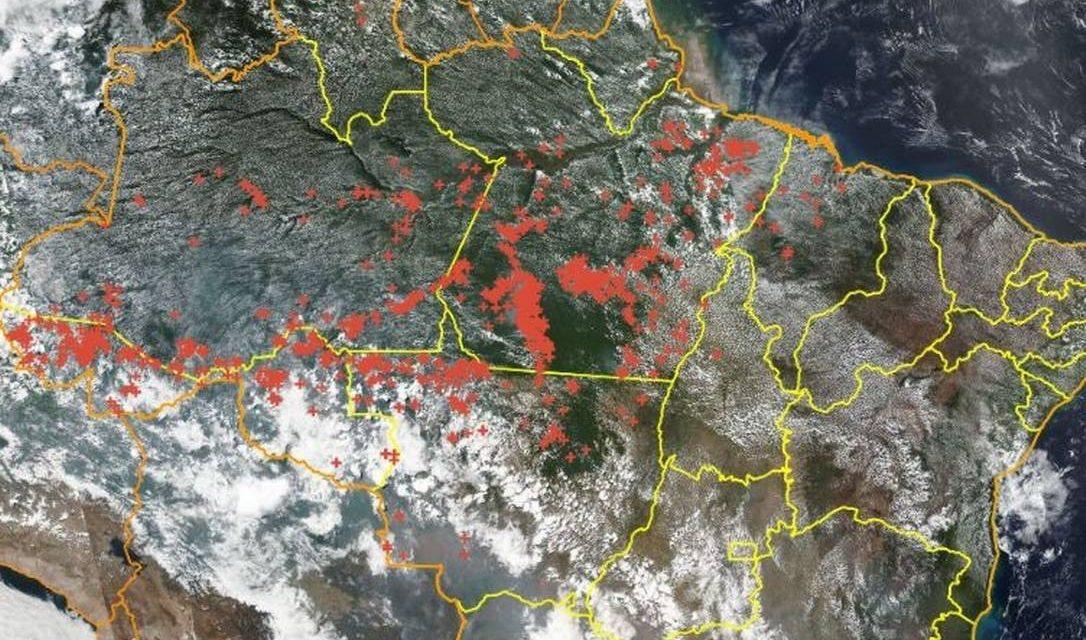 Queimadas na Amazônia crescem, mas estão na média de 20 anos