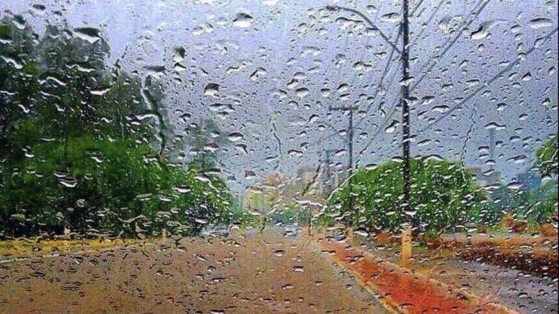 Frente fria traz chuva nesta sexta