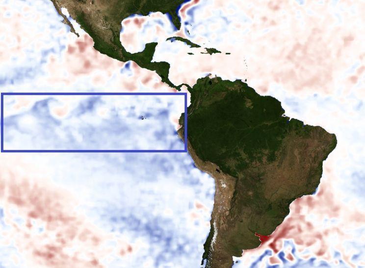 Pacífico esfria e haverá impacto no clima do Rio Grande do Sul