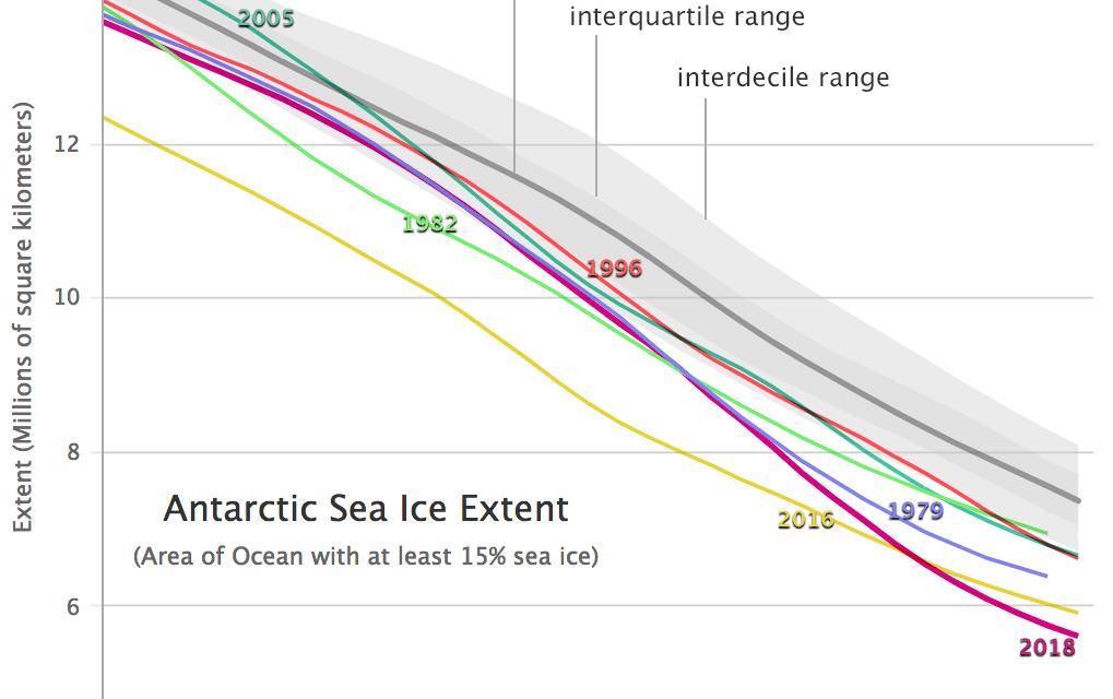 Antártida tem degelo marítimo recorde e por que isso nos importa?