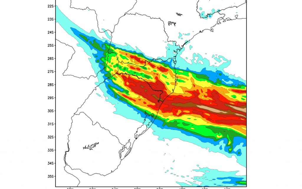 Semana começa com instabilidade no Sul do Brasil