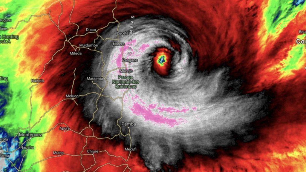 Desastre após desastre com novo ciclone em Moçambique