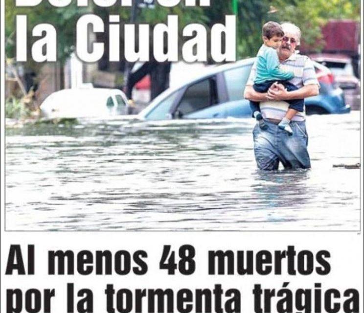 Capas dos jornais de hoje da Argentina