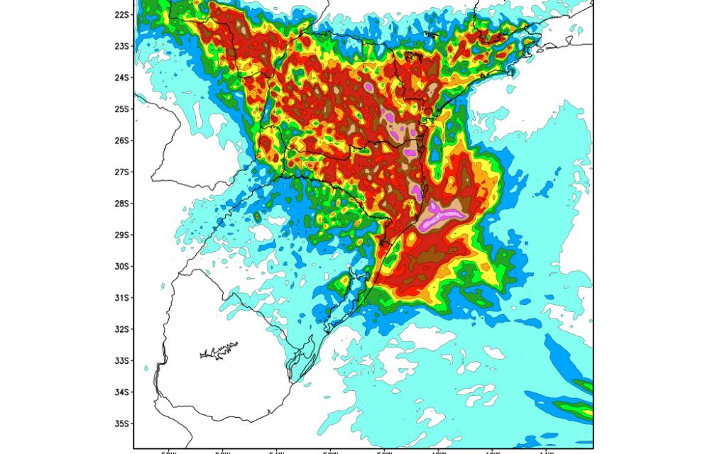 Instabilidade segue no Sul do Brasil