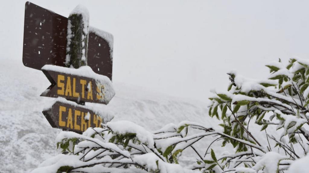 Massa de ar frio traz neve na Argentina e reduzirá chuva no Sul