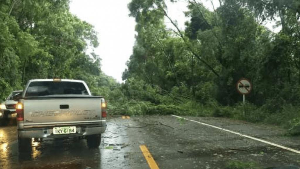 Inundação relâmpago e vendaval em municípios do Norte gaúcho