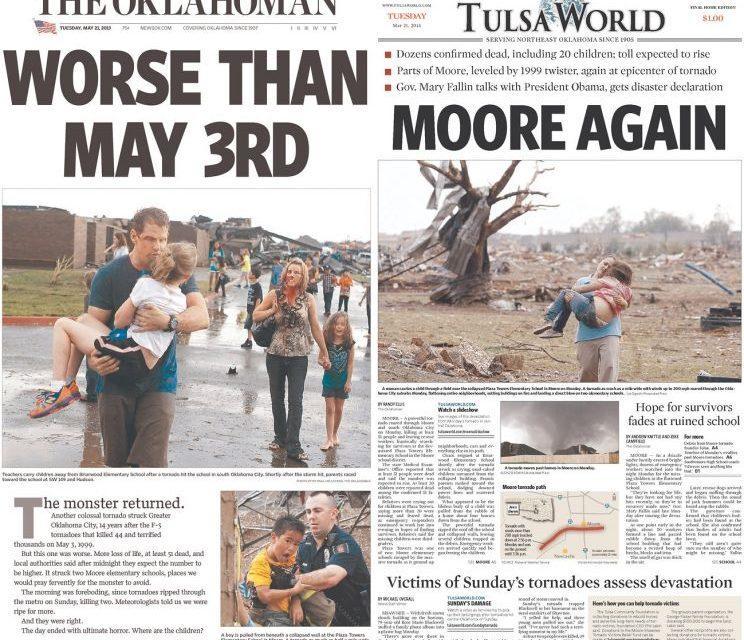 Tornado catastrófico provoca devastação em Oklahoma