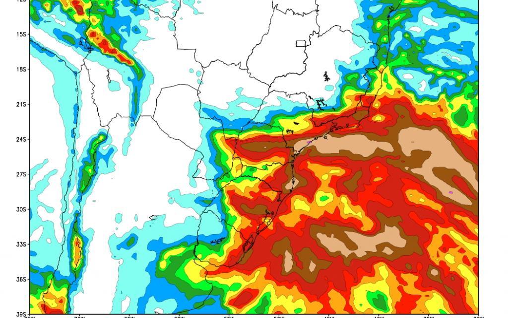 Chuva retornará para São Paulo e com altos volumes