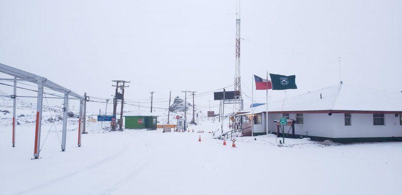 Neve fecha passagem da Argentina pro Chile nos Andes