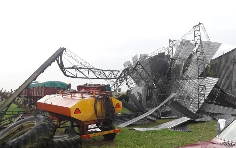 Tornado atinge localidade da província de Buenos Aires
