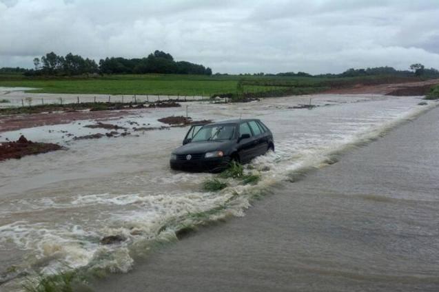 Emergência e danos por episódios de chuva intensa localizada