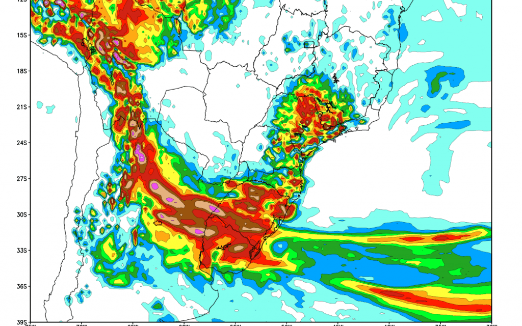 Frequência de chuva e temporais voltará a aumentar no Sudeste