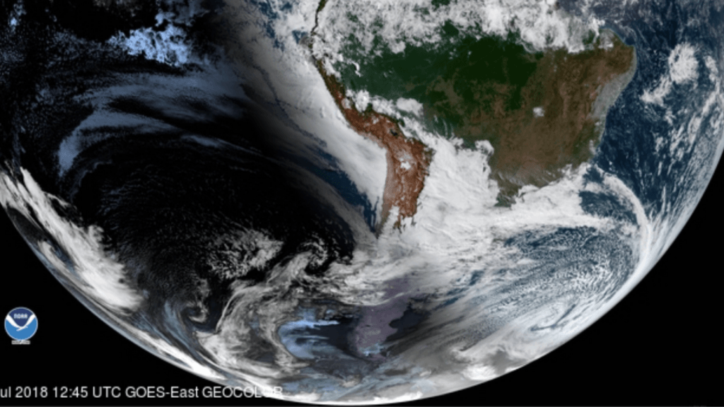 Neve e chuva congelada na Argentina, Uruguai e Rio Grande do Sul
