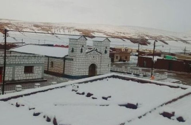Como pode ter nevado no Norte da Argentina em pleno fevereiro?