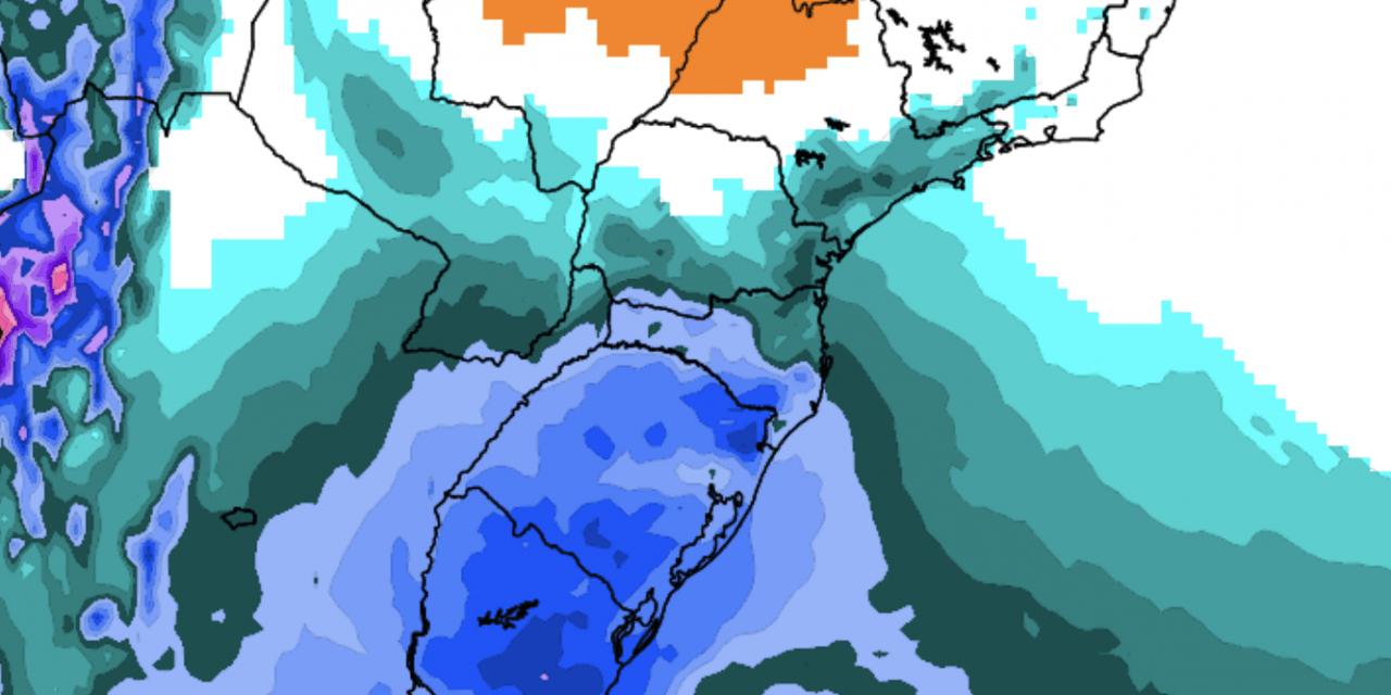 Ar muito frio chega amanhã e trará marcas gélidas no Sul do país