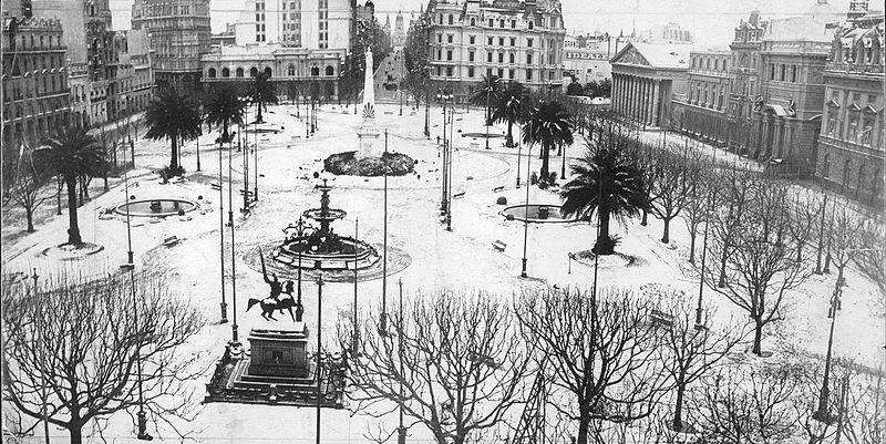 Os cem anos da grande nevada argentina que alcançou a fronteira gaúcha