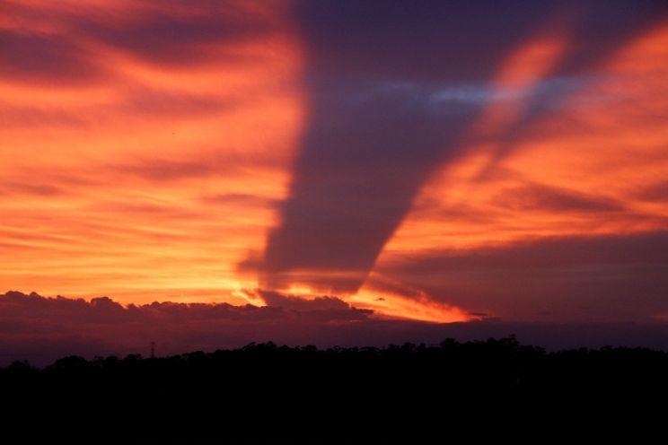 O que seria aquela imagem no céu que intrigou muita gente ?