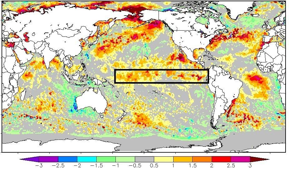 El Niño: superarada marca importante