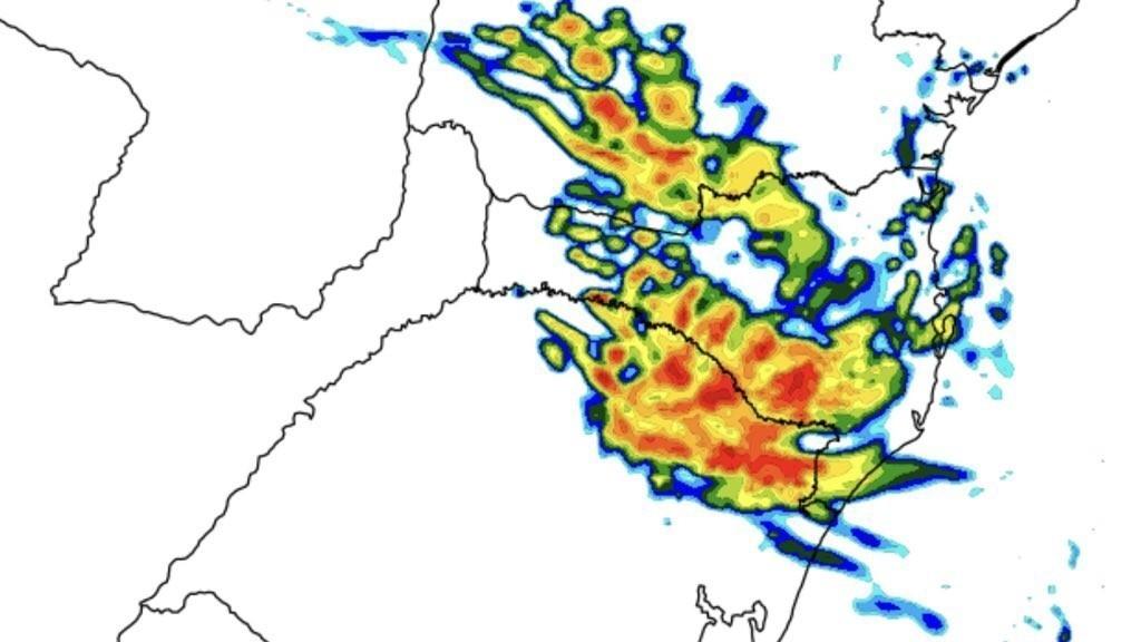 Chuva entre hoje e amanhã no Sul do Brasil não atenuará a estiagem