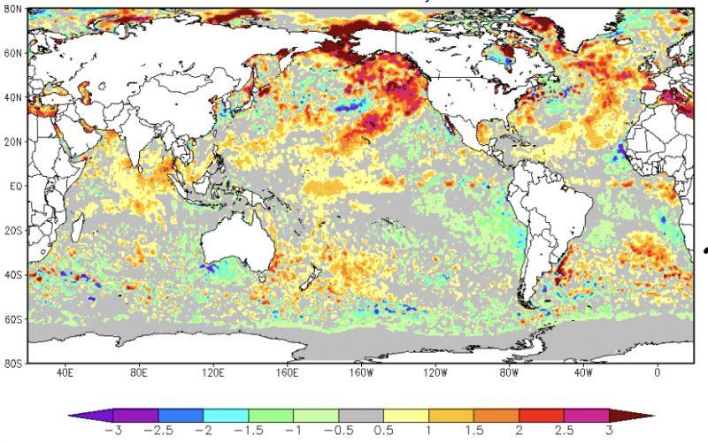 Episódio de El Niño perto do fim