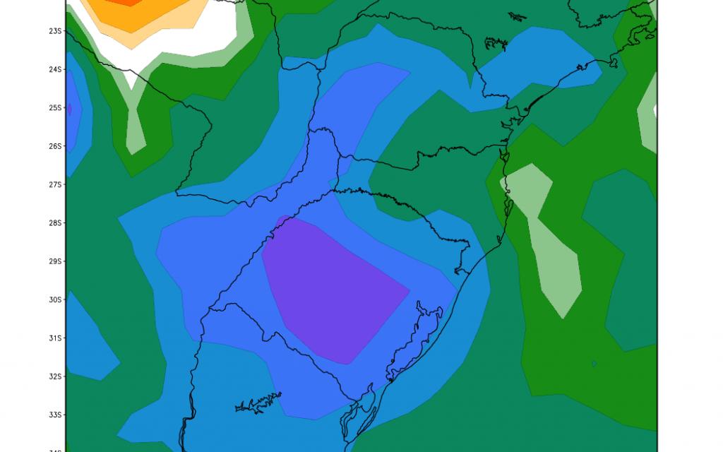 Fluxo atípico para janeiro de umidade trará chuva excessiva