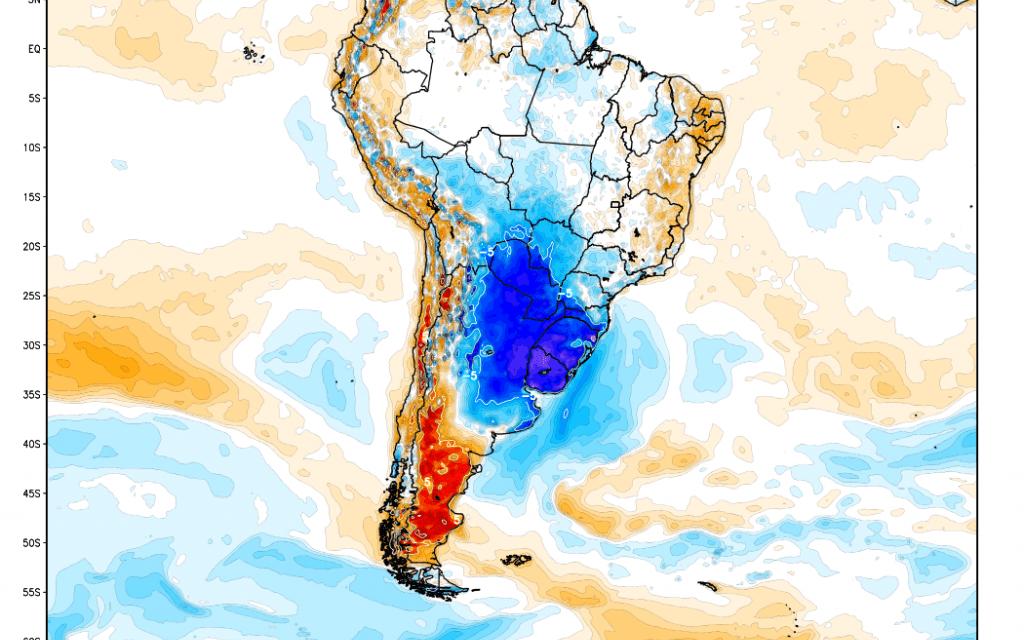 Agosto em dezembro com frio e geada no Sul do Brasil