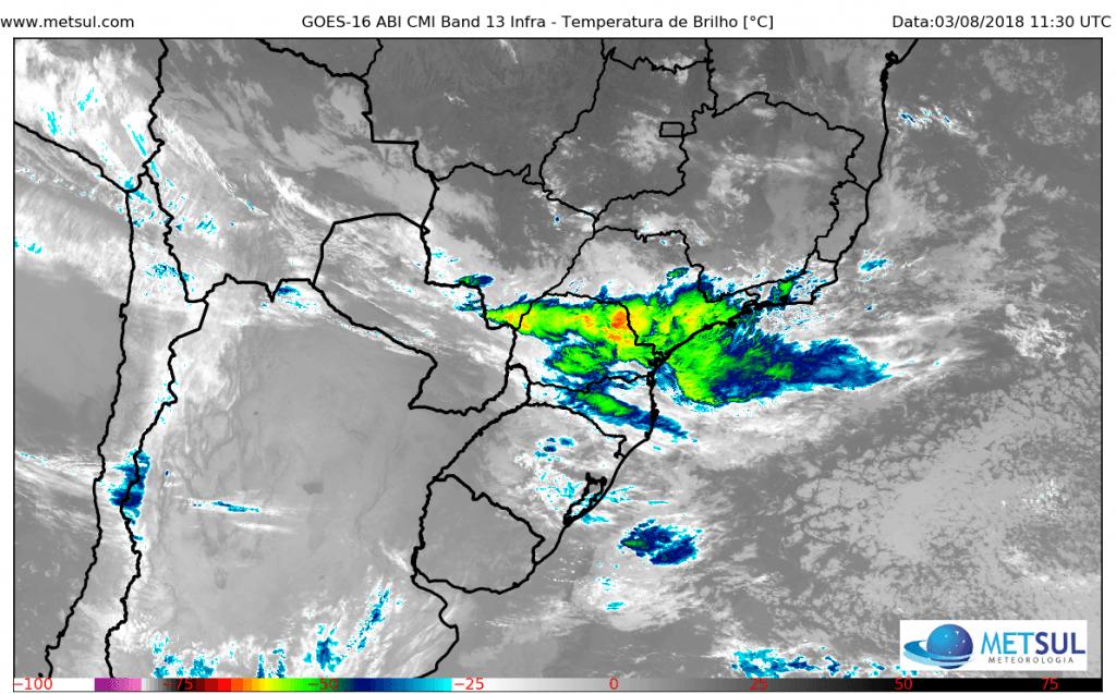 Muita chuva no auge da temporada seca