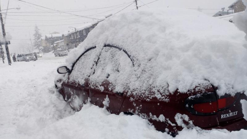 Nevasca de até meio metro atinge Bariloche e outras cidades