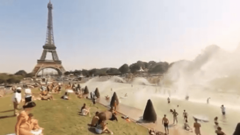 Recordes derretem sob onda de calor que assusta a Europa