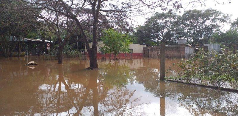 Enchente na Fronteira Oeste e deslizamentos na Serra Gaúcha