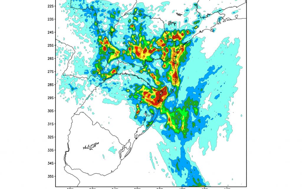 Sexto dia seguido com precipitação em Porto Alegre