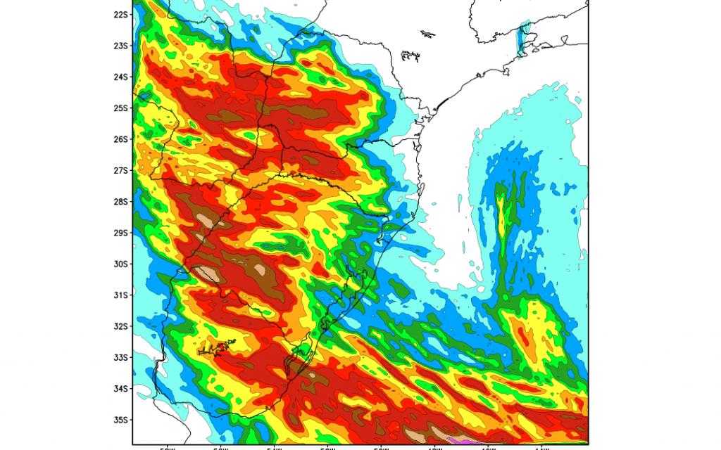 Saiba onde mais deve chover entre hoje e amanhã