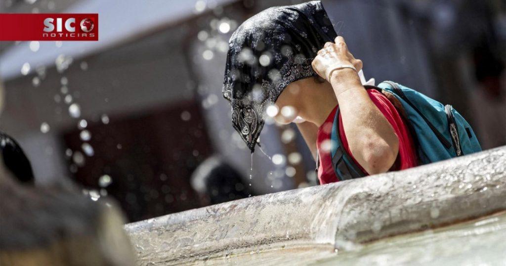 Calor extremo em Portugal e Espanha
