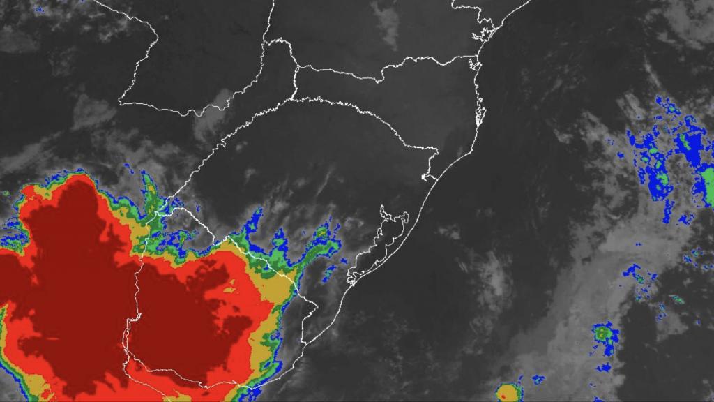 Forte instabilidade do Prata avança para o Rio Grande do Sul