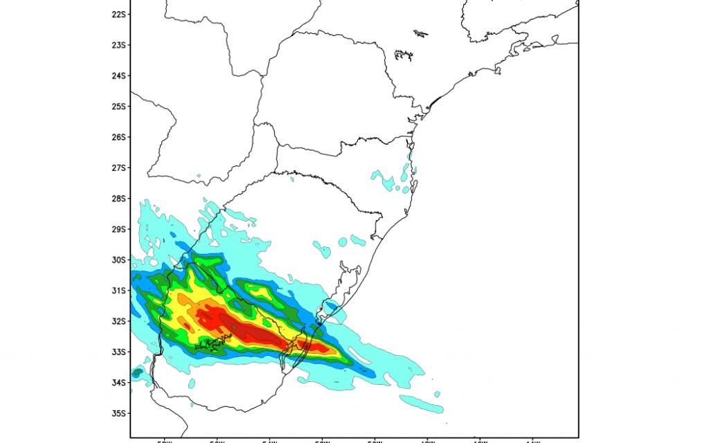 Muita chuva esperada no Sul gaúcho