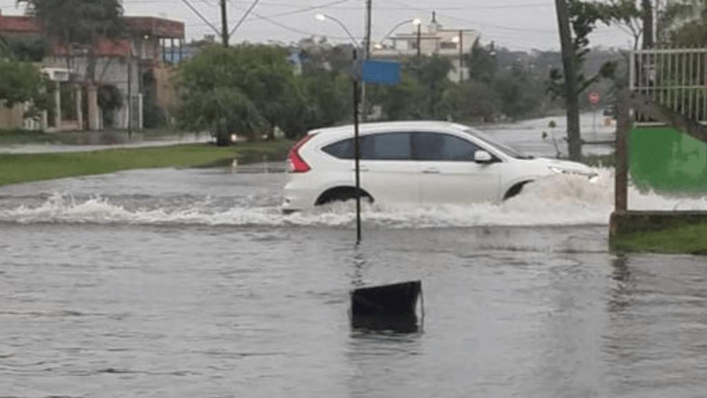 Grande Porto Alegre e Litoral Norte tiveram mais de 100 mm de chuva