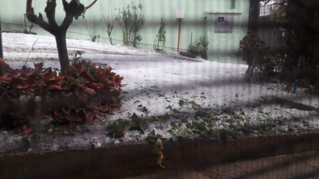 Tempestades de granizo atingem a Serra Gaúcha