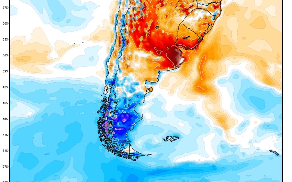 Onda de calor nos próximos dias